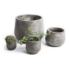 Hand Made Eco-Concrete Planters