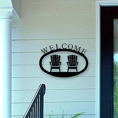 Iron Welcome Signs