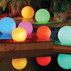 Colorful Color Changing Solar Globe Lights wiith Remote