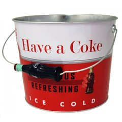 Vintage Coke Serving Tubs