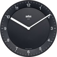 Braun Quiet German Precision Quartz Wall Clocks