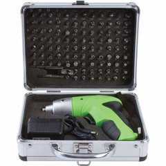 104pc Cordless Screwdriver Set