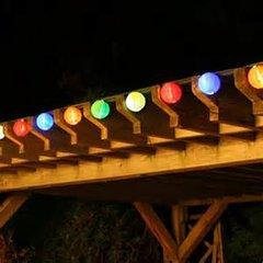 Solar Chinese Lantern Light String