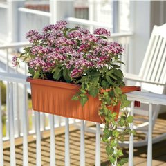Adjustable Railing Planter Boxes Set of Two