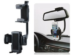 360-Degree Rotation Car Rearview Mirror Mount Holder