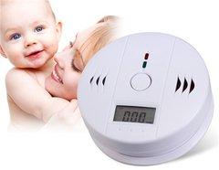 Carbon Monoxide Registering Alarm