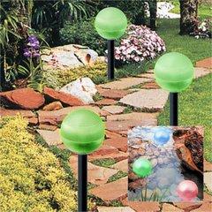 Hanging/Landscape Solar Ball Lights 2  Pack