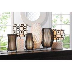 Modern Metal Slat Lamps