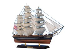"""Wooden Cutty Sark Limited Tall Model Clipper Ship 20"""""""