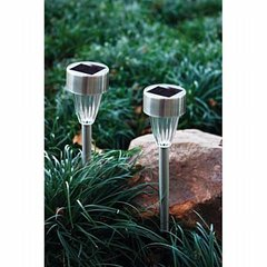 Beam Lite™ 2PC Yard Solar Light Set