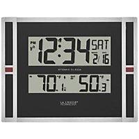 Atomic Clock Indoor/Outdoor Temperature With Trend Arrow
