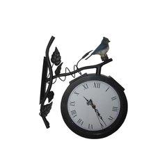 Solar Clock Light with Bird