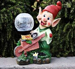 Gnome Figure Solar Landscape Lights