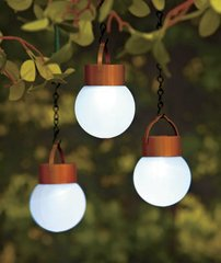 Hanging Solar LED Lights  Sets of 3