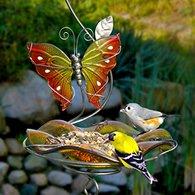 Hanging Blissfull Butterfly Feeder