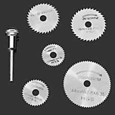 PrecissionHSS Circular Saw Blade Set For Rotory Toolos
