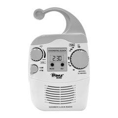 Hanging Waterproof AM/FM Shower Clock Radio