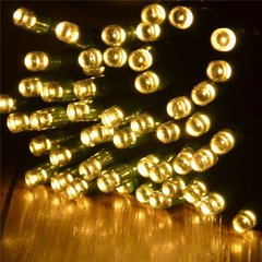 Solar Powered LED String Lights 55' 100 Lights