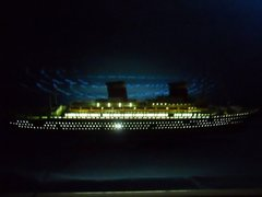 "Limited 50"" w/ LED Lights Model Cruise Ships"
