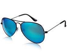 Unisex Nickel Alloy Frame Polaroid Polarized Aviator Sunglasses