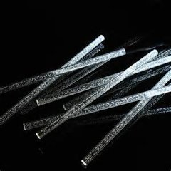 Solar Powered Acrylic Bubble  Lights  Set of 8