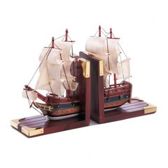 Schooner Bookends