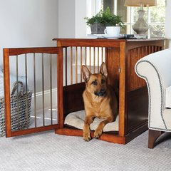 Dog Crate Bed End Table