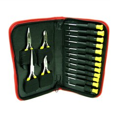 16-Piece Precision Jewelers Tool Set with Case