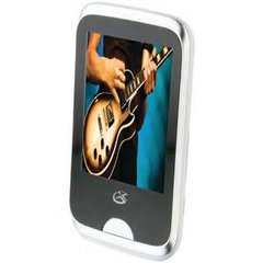 """8GB Digital Audio/MP3 Player with 2.8"""" Touchscreen"""