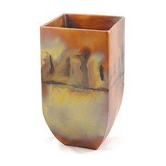 Copper Patina Vase's