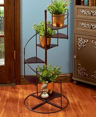 Spiral Staircase Plant Stand