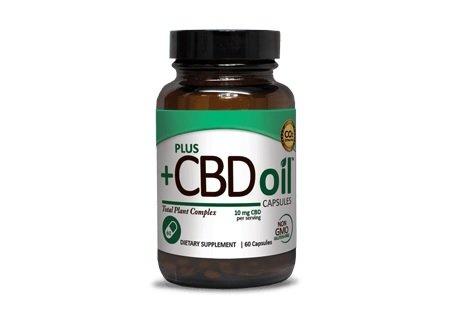 CBD Oil Plus Capsules