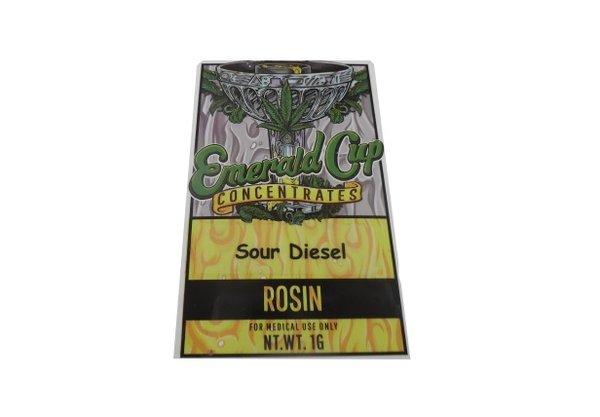 Emerald Cup- Sour Diesel Rosin