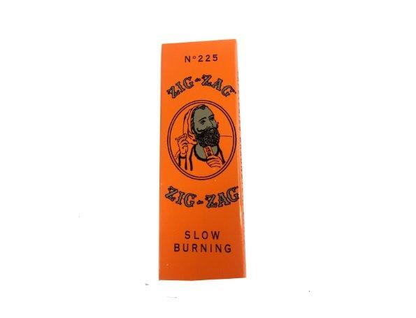 Zig Zag 1 1/4 Slow Burn, Orange Pack