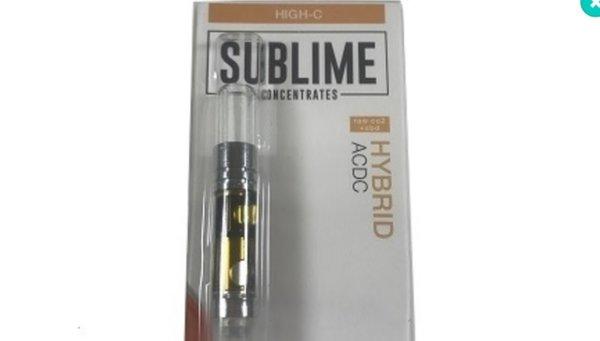 Sublime CBD 500 mL Vape Cartridge