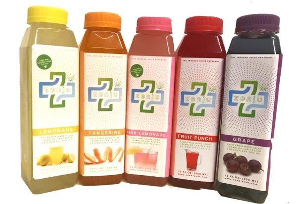 Zenju 100 mg Juice Drink by Zen Brands
