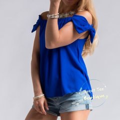 Bow Sleeve Off the Shoulder Top