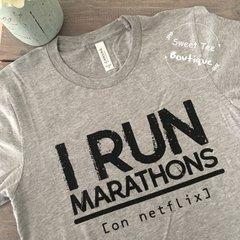 I Run Marathons (on netflix)