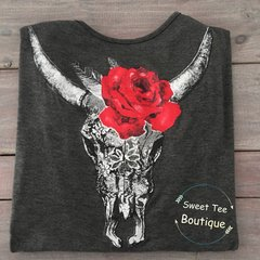 Cattle Floral Top