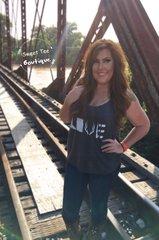 Dark Heather Gray Country Love Tank