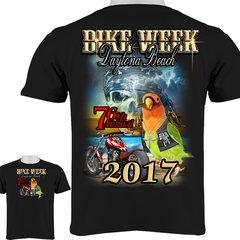 Bike Week Daytona Beach 2017 Tropical Parrot with Cigar