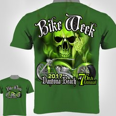 Bike Week Daytona Beach 2017 Skull & Biker Babe 0030