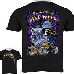 Bike Week Daytona Beach Wolf T-Shirt 0028