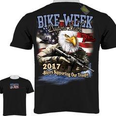 Daytona Beach Bike Week 2017 Navy Seal T-Shirt 0004