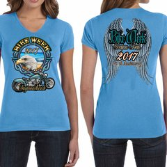 Bike Week Ladies 001 Eagles/Wings T-Shirt
