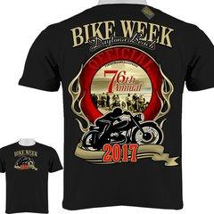 Bike Week Official Daytona Beach 76 Annual T-Shirt 0078