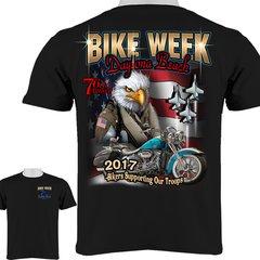 Bike Week Daytona Beach 2017 Air Force T-Shirt 0024