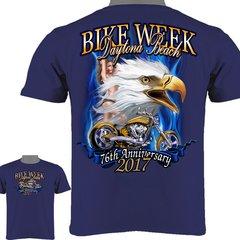 Daytona Beach Bike Week 2017 Eagle & Biker Babe 0015