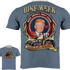 Trump Is My President Men's Bike Week Daytona Beach 2017 T-Shirt