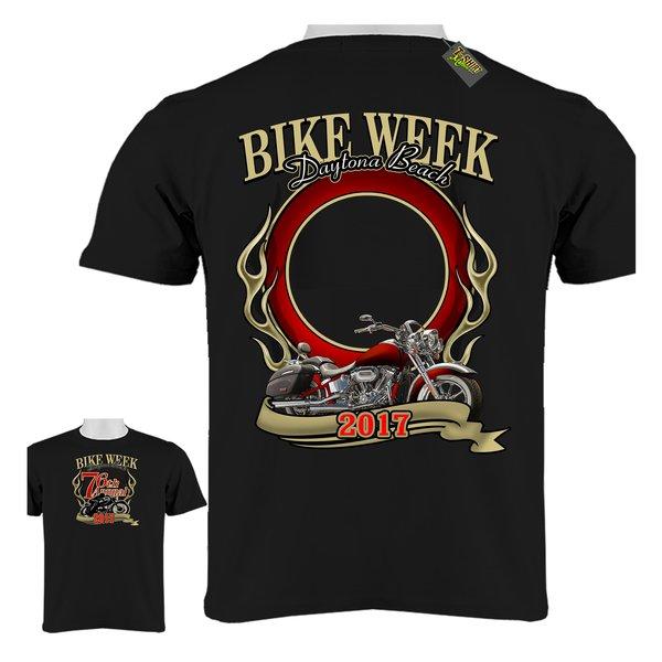 4c9cc432 Create Your Custom Photo Bike Week Daytona Beach 2017 T-Shirt   T ...